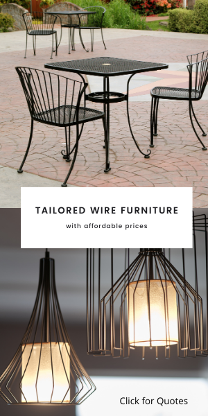 Custom Wire Work Furniture
